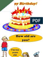 Birthday Powerpoint
