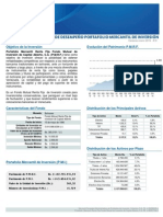 Informe de Desempeño Portafolio Mercantil de Inversion