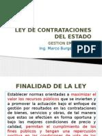 Presentación Ley de Contrataciones Del Estado