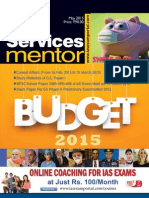 2015 - Civil Services Mentor - May