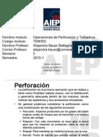 Clase 2 Operación de Perforación y Tronadura