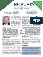 Centennial Review - June 2015