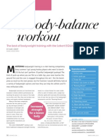 The Body-balance Workout by Marc Lebert