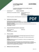 Bismuto Subsalicilato FDS