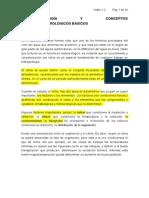 1.2 Climatología y Conceptos Hidrometeorológicos Básicos