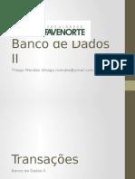 Aula 03 - Banco de Dados II