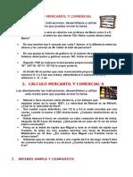 Cálculo Mercantil y Comercial