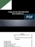 Elaboracion TRD- Talleres