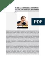 Fundamentos de La Psicología Histórico