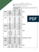 project response worksheet