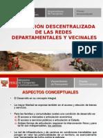 4 La Gestion Descentralizada de Las Redes Departamental y Vecinal