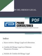 Gestión Riesgo Legal