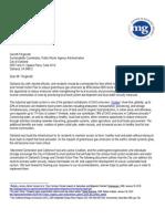 Sign-On Letter for Oakland ECAP