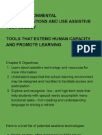 chapter 8 - inclusion - assistive technologies