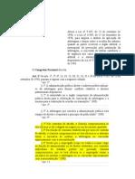 Reforma Lei Arbitragem Vetos Grifados