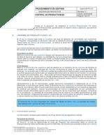 GYM.sgp.PG.33 - Control de Productividad