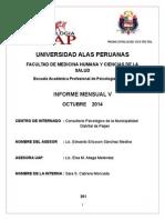 Informe Proy Soc 4- Octubre