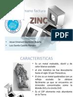 Zinc Manofactura