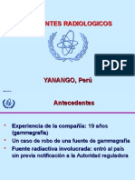 Accidente Radiologico Yanango,Peru