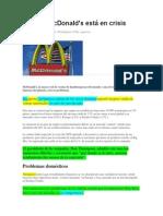 2014 NOV Por Qué McDonalds Esta en Crisis