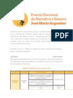 El Premio Nacional de Narrativa y Ensayo