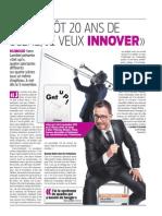 Article Le Matin mai 2015
