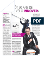 Article Le Matin mai 2015