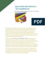 Diferenças Entre Termofixos e Termoplásticos