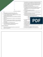 Paragraph Checklist