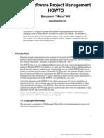FreeSoftwareProjectManagement-HOWTO