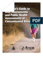 Citizens Guide to Risk and Public Health Assessments at Contaminated Sites - ATDSR USA - 1999