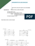 Dimensionamento de Lajes Maciças - ECA