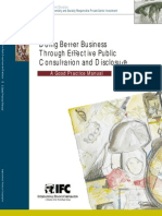 Doing Better Business Through Effective Public Consultation and Disclosure - IFC - 1998