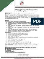 Job Description NDEP Facilitator - Revised3