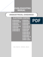 Yanmar TNV Troubleshooting Electronic Control 0DTNV-G00600 Troubleshooting Manual