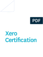 US Xero Certification Attendee Notes