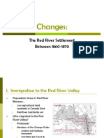 the red river settlement between 1860-1870