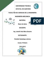 Consulta, Formulario, Macro, Informe