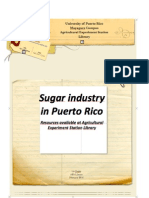 Sugar Industry in Puerto Rico