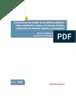 Los Procesos de Cambio de Las Políticas Públicas Sobre Orientación