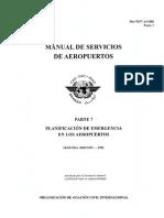 DOC 9137 - Parte 7 - Planificación de emergencia en los Aeropuertos (1).pdf