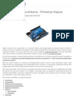 Programação Para Arduino