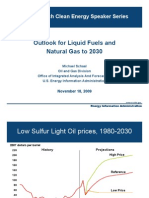 Outlook for Liquid Fuels and Natural Gas to 2030 - Clean Energy Speakers Series
