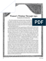 Women's wisdom through ages