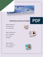 CRONOGRAMA PARA ENGLISH DISCOVERIES BÁSICO I  73636