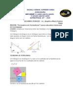 Triangulos y Pitagoras