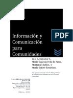 Información y Comunicación Para Comunidades