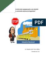 Industrialización del sector agropecuario