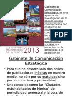 GCE Las Ciudades Mas...2013