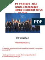 Une gouvernance économique mondiale - présentation.odp